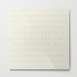 Mae Pattern III Metal Print