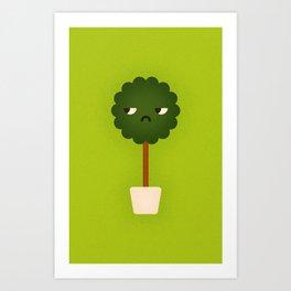 Small Tree Plant Art Print