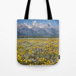 Grand Teton National Park Tote Bag