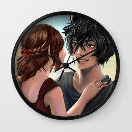 Chishio and Ketsueki Wall Clock