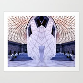 Inside London Art Print