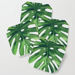 Monstera Leaf Coaster