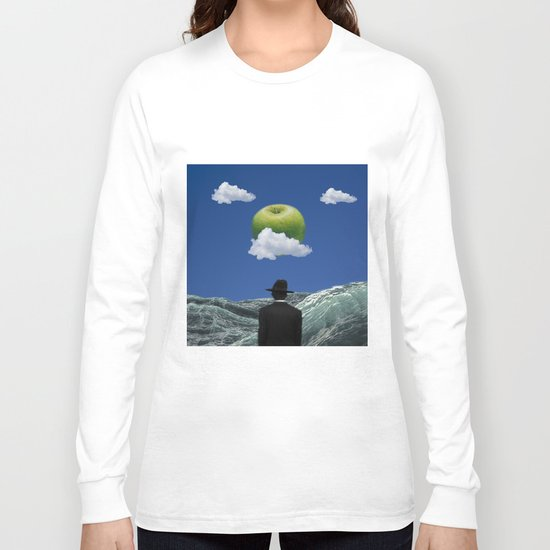 Apple Magritte Long Sleeve T-shirt