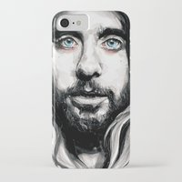 jared leto iPhone & iPod Cases featuring Jared Leto by KlarEm