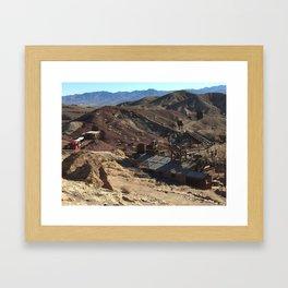 Calico California Ghost Town Framed Art Print