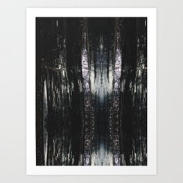 Abstract No 4 Art Print