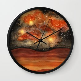Beautiful Galaxy II Wall Clock