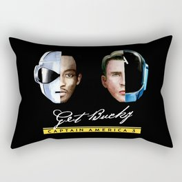 Up All Night to Get Bucky Rectangular Pillow