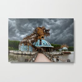 Adandoned Dragon Metal Print