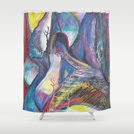 Staircase to the Sun Shower Curtain