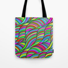 waves of colors  Tote Bag