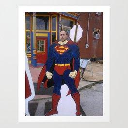 Supererik Art Print