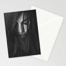 Dark Girl Stationery Cards