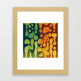 Lava Sea Framed Art Print