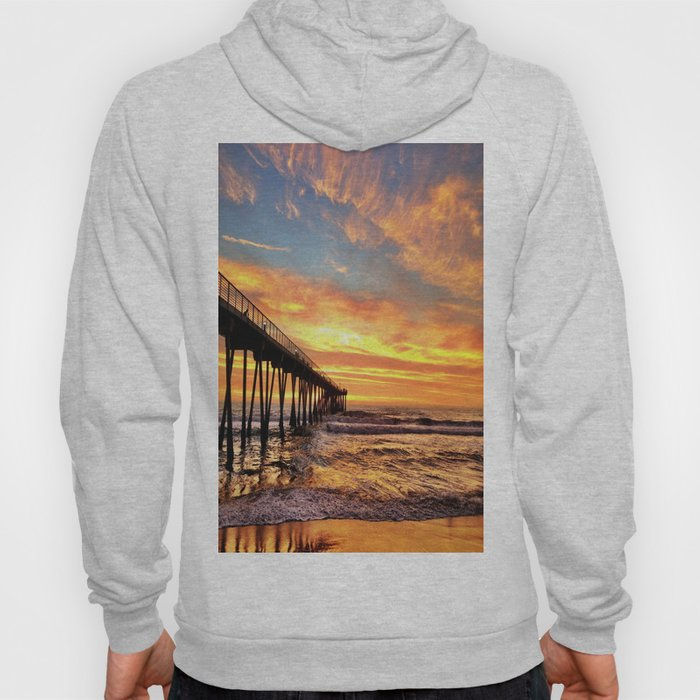 "Hermosa Beach ""A Parade of Colors"" Hoody"