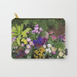 Floral Spectacular - Spring Flower Show Carry-All Pouch