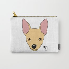 Chihuahua Face Carry-All Pouch