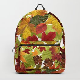 Autumn Fall Leaves Backpack
