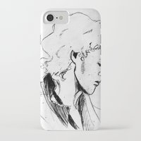 enjolras iPhone & iPod Cases featuring Enjolras by Pruoviare