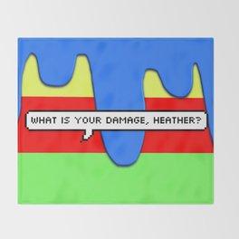 Heathers Throw Blanket