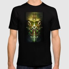 Herald of Dawn MEDIUM Mens Fitted Tee Black