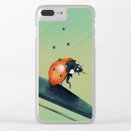 Oh, Bugger (Spring Version) Clear iPhone Case