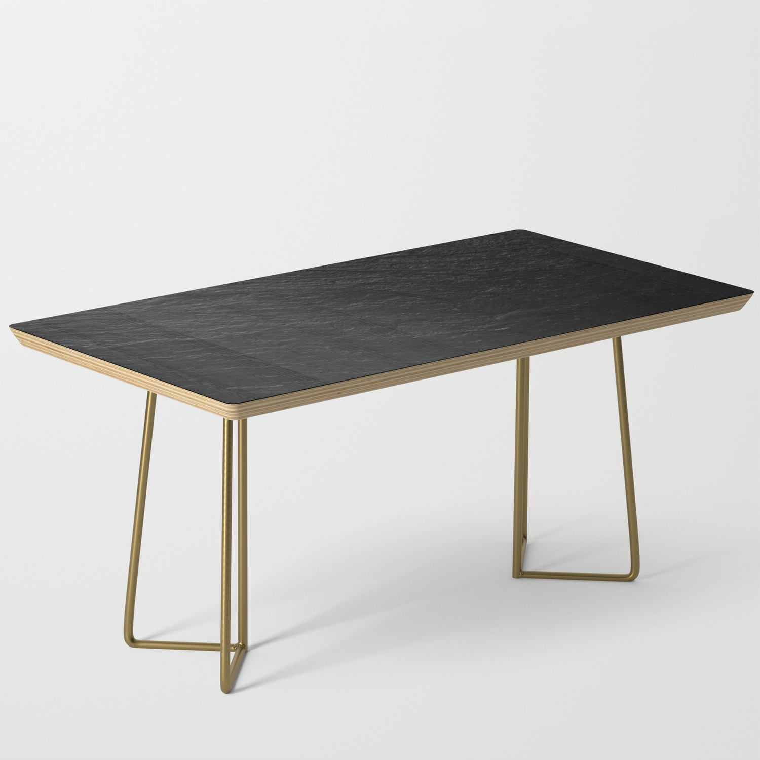 Black Slate Coffee Table By Patternmaker Society6