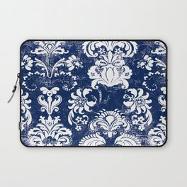 navy and white breeze Laptop Sleeve