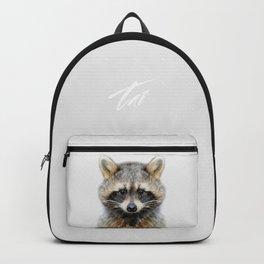 Baby Raccoon Backpack
