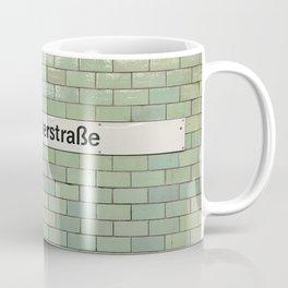 Berlin U-Bahn Memories - Samariterstraße Coffee Mug