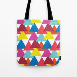 Mexican Streets Triangle Abstract Tote Bag