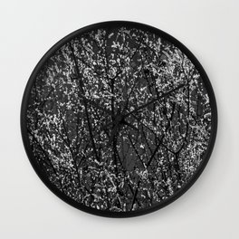 Icy Days NO8 Wall Clock