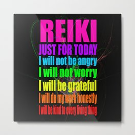 REiKi Just for... Metal Print