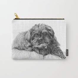 Shih Poo Resting Carry-All Pouch