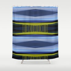 Highwayscape2 Shower Curtain