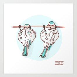 Tweety-One Art Print