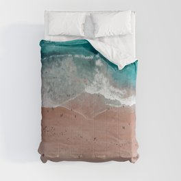 Bondi Beach, Sydney Travel Artwork Comforters