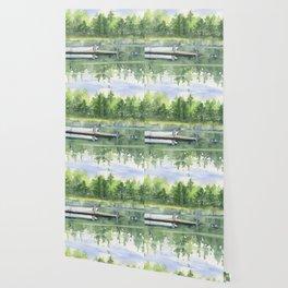 A Summer Pond Wallpaper