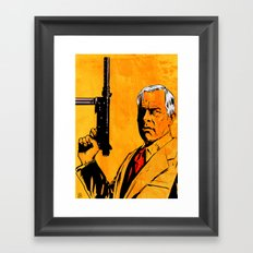 Lee Marvin Framed Art Print