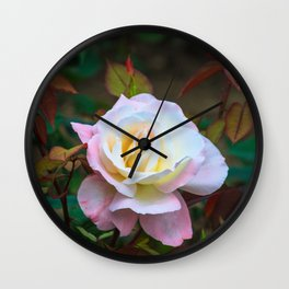 A rose Wall Clock