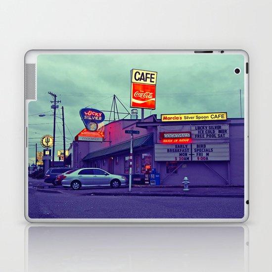 American diner Laptop & iPad Skin