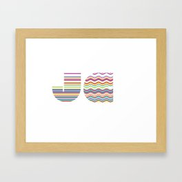 JX Framed Art Print