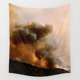 Cedar City Forest Fire - III Wall Tapestry