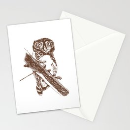 Forest Owlet Stationery Cards