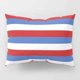 Panama Paraguay flag stripes Pillow Sham
