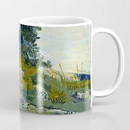 "Vincent van Gogh ""The rocks"" Coffee Mug"