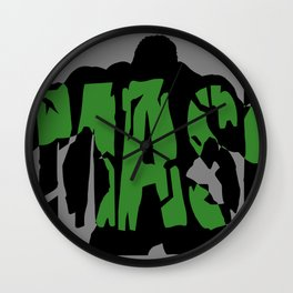 Hulk, Smash! Wall Clock