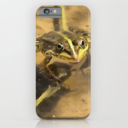 Marsh Frog iPhone Case