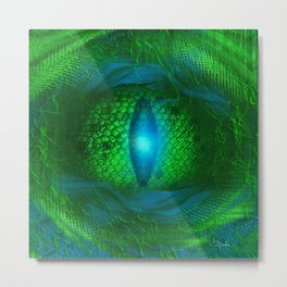 Dragon's Eye Metal Print