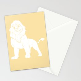 Lion Wild Sweet Funny Carnivore Stationery Cards